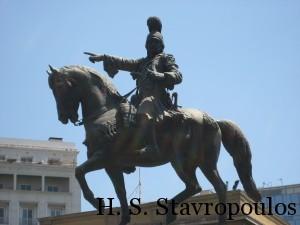 Kolokotronis Statue Athens
