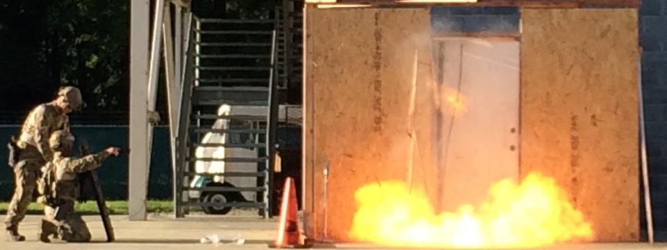Explosive Breaching